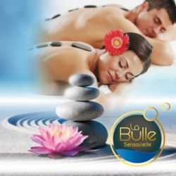Massage aux Pierres Chaudes Version Deluxe DUO 1h30